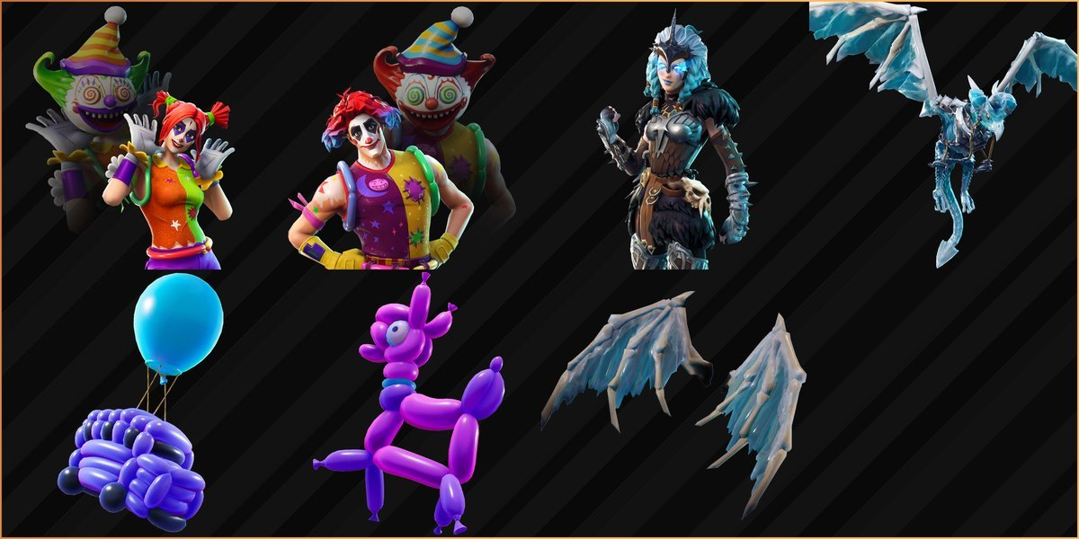 Upcoming Fortnite Skins, Back Bling, and Gliders Have Been